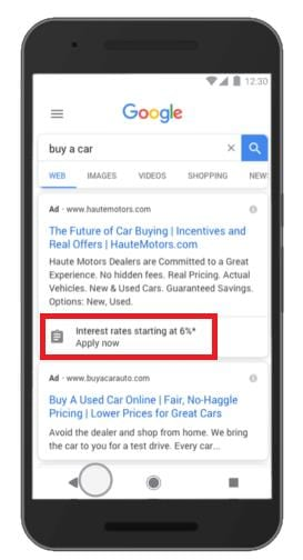 google-ads-mobile-extension